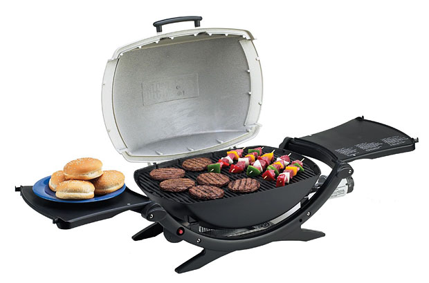 Weber Q 220 Portable Gas Grill at werd.com