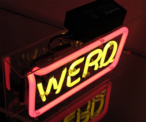 Word Play Neon by Patrick Martinez at werd.com