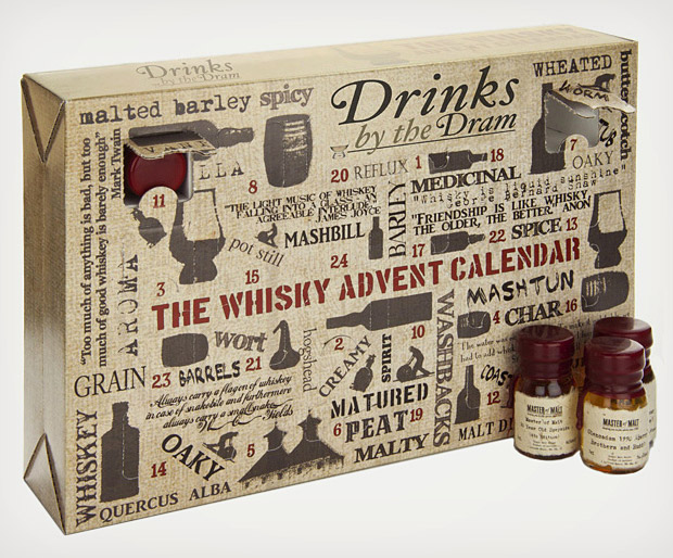 Whisky Advent Calendar at werd.com