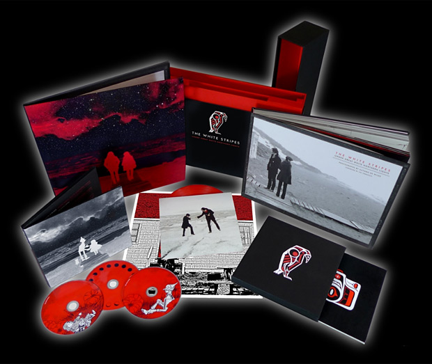 Under Great White Northern Lights Box Set by The White Stripes at werd.com