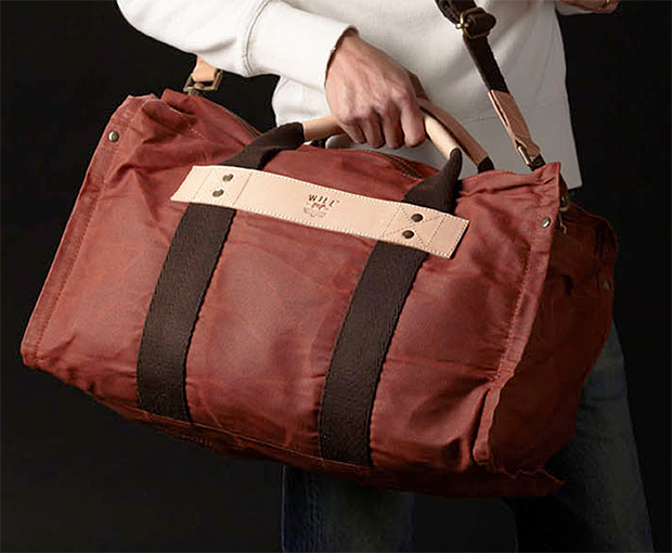Will Canvas Duffle at werd.com