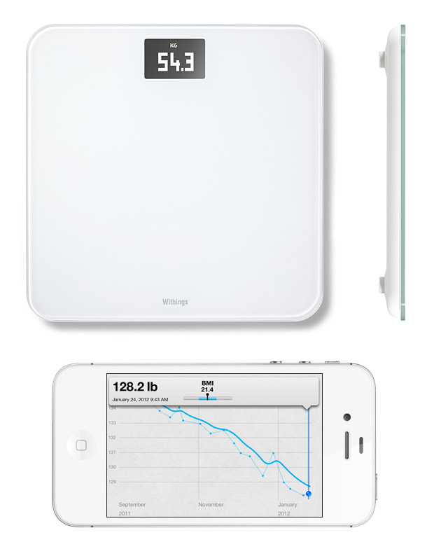 Withings WS-30 Wireless Scale at werd.com