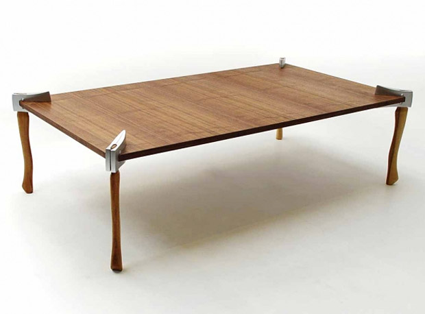 Woodsman Axe Coffee Table at werd.com