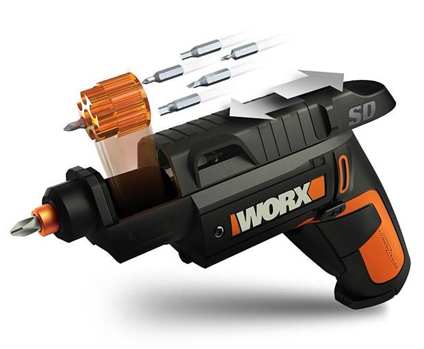 WORX Semi-Automatic Power Screw Driver at werd.com