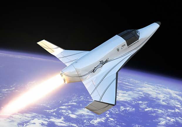 XCOR Aerospace Suborbital Tour at werd.com
