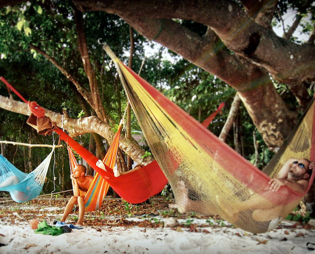 Yellow Leaf Hammocks at werd.com