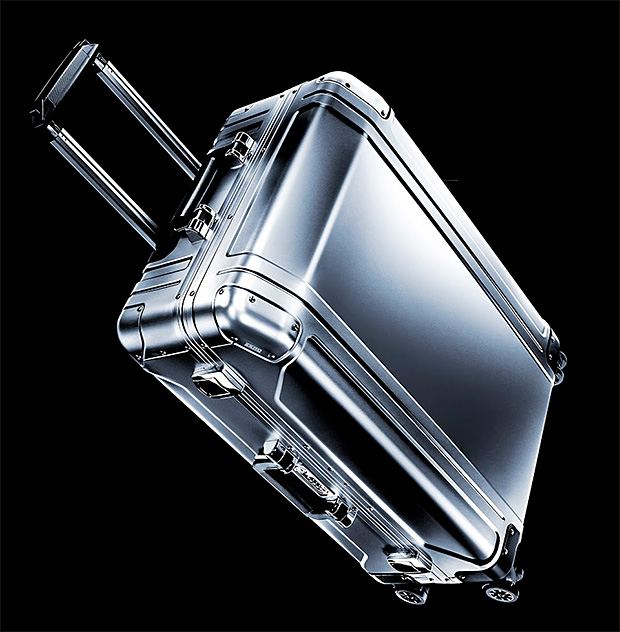 Zero Halliburton Geo Aluminum Luggage at werd.com